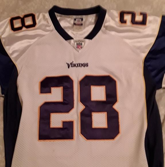 MN Vikings Adrian Peterson  28 Mens Jersey Size 48 3845ba658